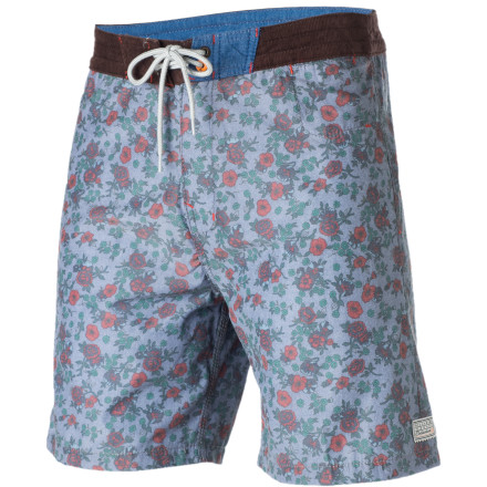 Surf Get out and rip the waves like a German bodybuilder in the Billabong Hans Boardshort.You can feel good about saving the planet, even if it is covered in puny girly-men, with the Hans's 47% recycled polyester construction. - $35.67