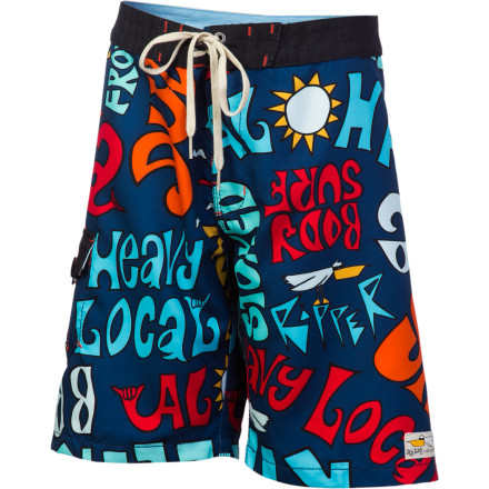 Surf Seventeen inches of pure summer fun is crafted from recycled PET (a.k.a. water bottles) to make the Billabong Boys' Shaka 17in Board Short. - $22.25