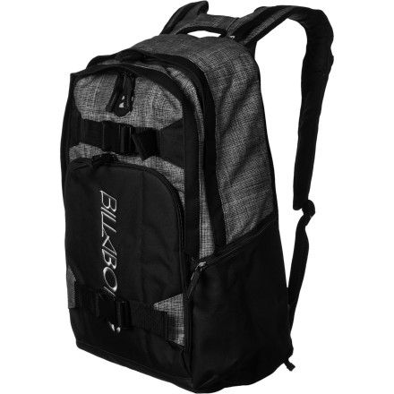 Surf If you ditch your morning classes, you should have enough time to catch a few choice waves before your afternoon midterm. The Billabong Padang Surf Backpack lets you pack your books and your surf gear so you can go straight from the beach to class. - $79.45