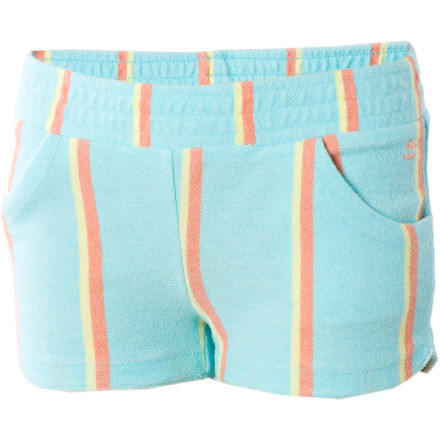 Fitness Crank up the casual-fabulous or slip them on after a swim for a quick nap during the car ride home; the Billabong Little Girls' Tumbleweeds Short is ready for whatever you are. - $11.18