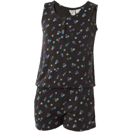 Surf The Billabong Girls' Henny Jumper makes getting your little fashionista ready easy. This cute, little all-in-one outfit will keep her looking and feeling good. - $11.78
