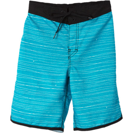 Surf Get your little ripper started early in the Billabong Little Boys' Wired Board Short. This comfy and stylish polyester board short cuts through whitecaps with him as he masters standing on a board and catching his first rides. - $25.17