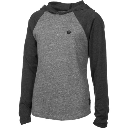 Surf Billabong Essential Raglan Hooded Shirt - Boys' - $19.17