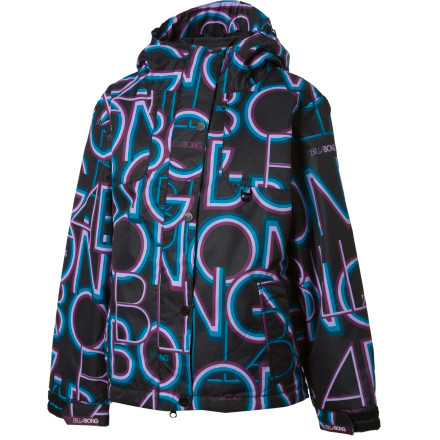Snowboard All your girl's snow-dances finally payed off. Give her the Billabong Tiana Jacket and let her burn all her energy on the slopes. - $52.48