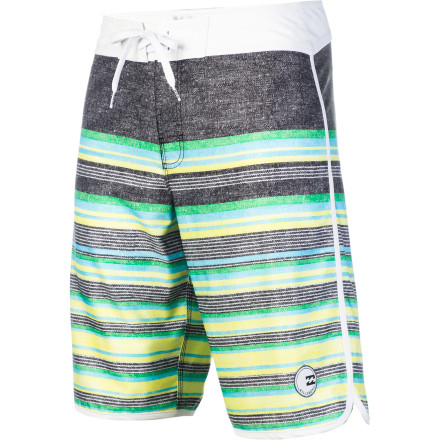 Surf Like a python poised to strike, the Billabong Coil Board Short is as happy attacking a wave as it is a kegger. - $43.96