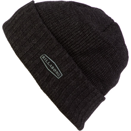 Surf Throw the Billabong Men's Slopestyle Beanie on your noggin before you head to the after party to impress all the ladies with your yodeling skills. - $14.37