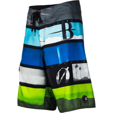 Surf You'll be hitting the water a lot more often in the Billabong Frequency Men's Board Short. It's quick-drying and comfy so you can wear it all day and be ready any time there's a chance to dive in. - $49.01