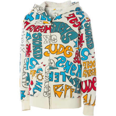 Surf Billabong Shaka Full-Zip Hoodie - Little Boys' - $22.48