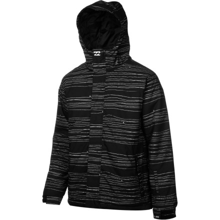 Snowboard Wouldn't it be great if snow just fell at room temperature and you could shred in T-shirts every day Well, it doesn't, so you can either keep dreaming or you can get the Billabong Tweak Insulated Jacket. 120g insulation provides ample warmth when the mercury is falling fast. - $76.48