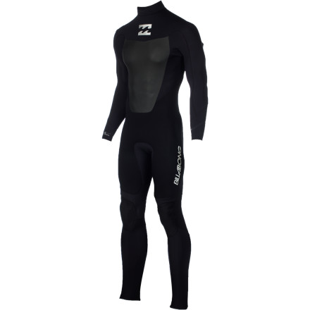 Surf The Billabong Foil 403 Back Zip LS Men's Full Wetsuit is an ideal year-round wetsuit for anyone headed out west. The AX2 AirLite SuperFlex 2 neoprene is soft and stretchy for comfort on long days on the break, and the Furnace thermal lining retains heat to keep you warm when water temps are on the colder side. - $111.62