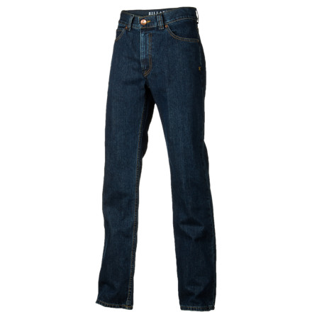 Surf Not into the whole guys-wearing-girls'-jeans thing Go for a more classic look with the Billabong Point Men's Denim Pant. The relaxed fit allows plenty of room for the boys to breathe down there without being too baggy. - $39.56