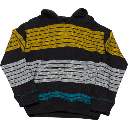 Surf Billabong Shreddin Hooded T-Shirt - Long-Sleeve - Little Boys' - $21.57