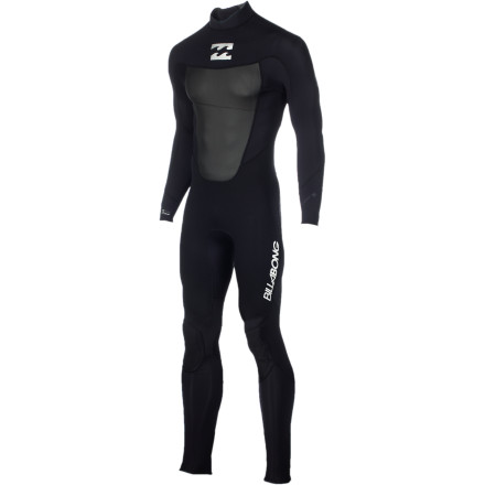 Surf If you're looking for a high quality wetsuit without having to start collecting cans on the side, get the Billabong Foil 302 Back Zip Flatlock Men's Full Wetsuit. AX2 AirLite SuperFlex 2 neoprene is soft and stretchy for a comfy fit, and strategically placed panels and seams make it feel like a high-end suit by offering greater mobility. - $83.62