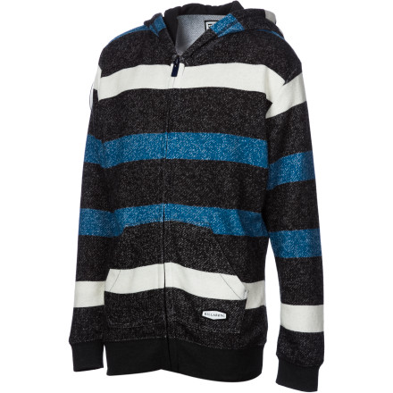 Surf Billabong Daily Full-Zip Hoodie - Boys' - $38.47