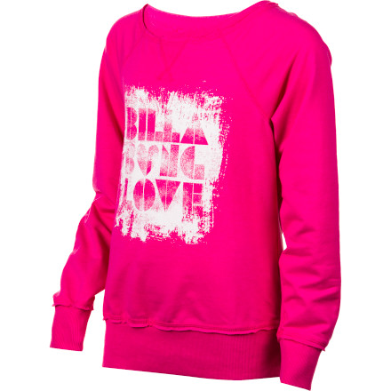 Surf Billabong Sleepin In Crew Sweatshirt - Girls' - $17.75