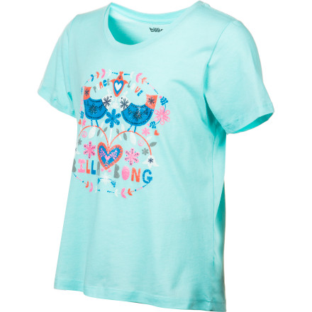 Surf Billabong Dreams Relaxed Shirt - Short-Sleeve - Girls' - $12.64