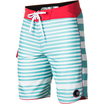 Surf The Billabong Striker Board Short delivers the technical aspects such as 8% stretch, fast-drying comfort, and lightweight material that envelope-pushing waterman ask for, but wraps it all up with a classic style anyone can appreciate. - $49.46