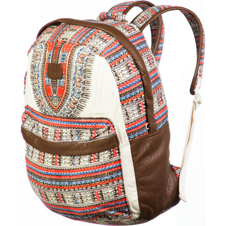 Camp and Hike Satisfy your need for your favorite things and bring them along in the Billabong Women's Take Me With You Backpack. Whether you take the Take Me With You to school or where the weather is cool, this handy backpack will back you up with the space to haul your haul all over the place. - $43.16