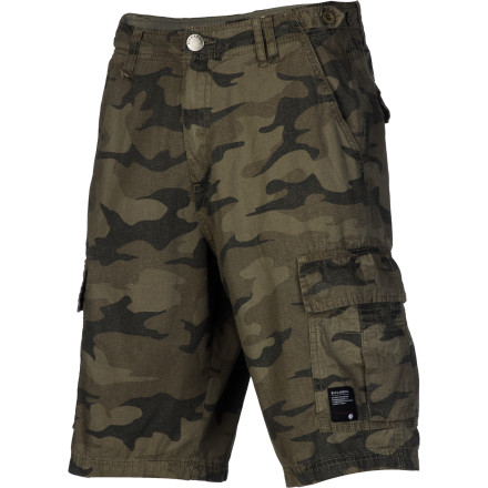 Surf Your friend that says cargo shorts are out of style is going to feel dumb when you show up to the concert in the Billabong Scheme Men's Short and you were able to sneak in way more beers thanks to your trusty cargo pockets. - $54.95