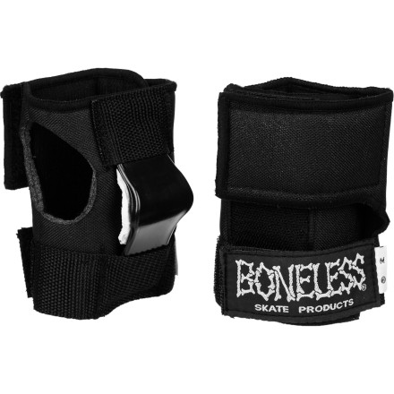 Skateboard Reduce your risk of wrist injury with the Boneless Wrist Guards. Offers support and impact protection without restricting your movement. - $9.98