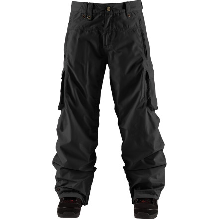 Snowboard Bonfire Radiant Pants offer total protection without blowing up your bank account. These 15K waterproof breathable pants pack all the features that you need for a full season of shredding in every type of weather so you don't have to rummage around wondering what to wear. - $110.47