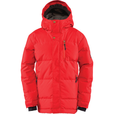 Snowboard Insulated with 450-fill down and backed with DryLevel1 waterproofing, the Bonfire Boys' Cronos Jacket was designed to keep you riding longer no matter what kind of temper tantrums Mother Nature is throwing. - $89.97