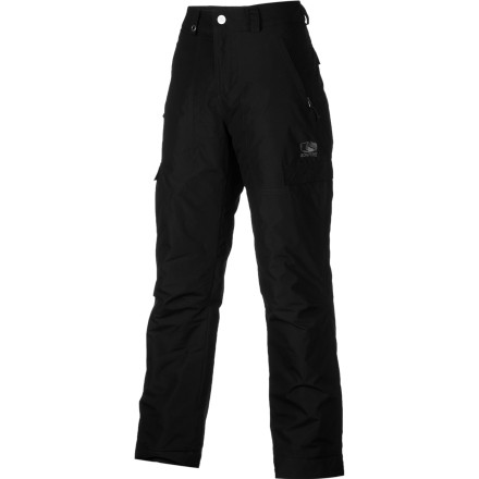 Snowboard Go big or go home. With the Bonfire Boys' Burly Pant, you can go big, stay warm, and go home dry thanks to the DryLevel1 fabric and the toasty warmth of 100-gram synthetic insulation. - $34.98