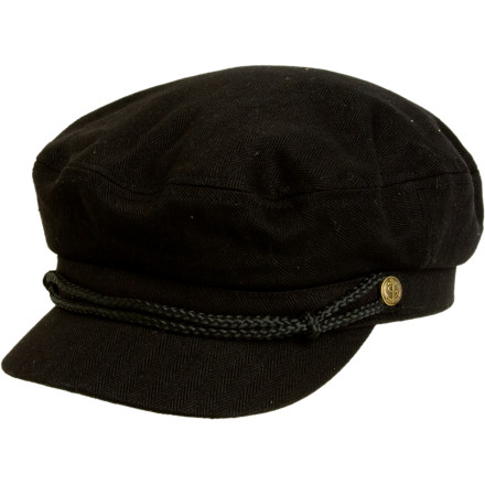 The Brixton Men's Fiddler Hat doesn't know crap about string instruments unless you're talking about a guitar. Brixton made the Fiddler Hat out of premium canvas, added a leather strap, and lined it with silk for a pimp-ass look you won't see at the orchestra. - $16.98