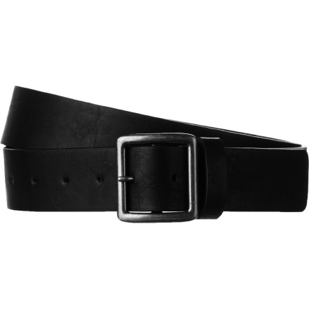 Channel the classic style Brixton is known for with the Truss Belt. A simple, squared design with just a couple of rivets and an antique silver or bronze buckle make this belt one you can wear with anything, and wear for years on end. - $33.95