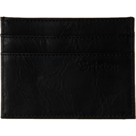 Entertainment Sick of lugging around a bulky wallet full of long-faded receipts and jenga pieces you'll never use Pick up the Brixton Otis Wallet and stick with the essentials. - $20.36