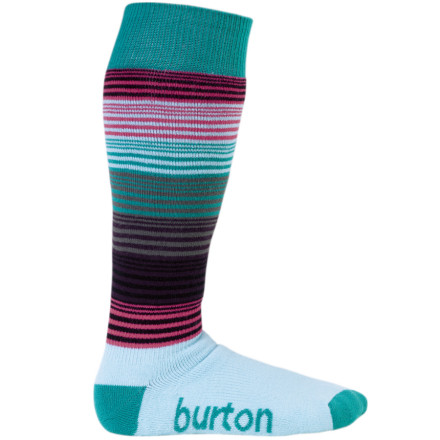 Snowboard Throw on the Burton Womens Scout Sock before you head out to poach some fresh, pit-deep pow. This midweight sock sports medium-density padding through to keep your tootsies comfortable while you charge, stomp, and drop your way across the mountain, while the no-irritation toe seam prevents any unwanted discomfort. - $10.74