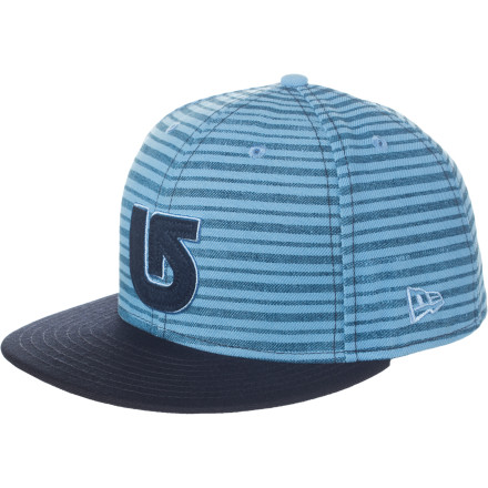 Snowboard As you slept soundly on the floor of your buddy's party house, his dog nabbed your beanie. Instead of searching for its remains, slip on the Burton ADL New Era Hat before you stumble out into the sunny morning. - $20.97