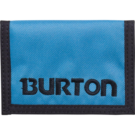 Snowboard The Burton Cory Wallet is the first stop towards you finally getting your life in order. Once you have your cash and your cards organized, you will only be a few steps away from finally paying off your credit cards, finishing college, and landing that six-figure dream job you obviously deserve. - $8.97