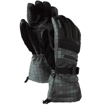 Snowboard At the heart of the Burton Pinnacle Gore-Tex Glove you will find a Gore-Tex XCR insert. Oh, and a removable jersey liner. So we guess this glove really has two hearts for big love on big-mountain rides. - $59.94
