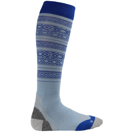Snowboard Wool socks aren't just for cold mid-winter days anymorelook at the Burton Ultralight Wool Sock. It gives you the same moisture-wicking, breathable, anti-odor properties that make wool so awesomein a soft, lightweight blend perfect for slushy spring days. - $20.90