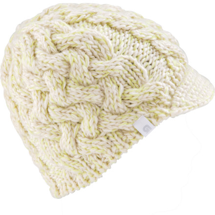 Snowboard Keep your head warm this winter with the Women's Burton Breanie Beanie. Skully fit fits comfortable against your head, while a slight brim keeps snow out of your face. - $19.77