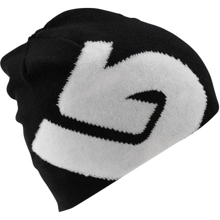 Entertainment Throw on the reversible Burton Boys' Billboard Beanie and let everybody know that you don't ski - skiing is for old guys named Hans. You're new school. You rip new school, and you represent new school inside and out. - $11.37