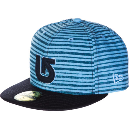 Snowboard As you slept soundly on the floor of your buddy's party house, his dog nabbed your beanie. Instead of searching for its remains, slip on the Burton ADL New Era Hat before you stumble out into the sunny morning. - $15.73