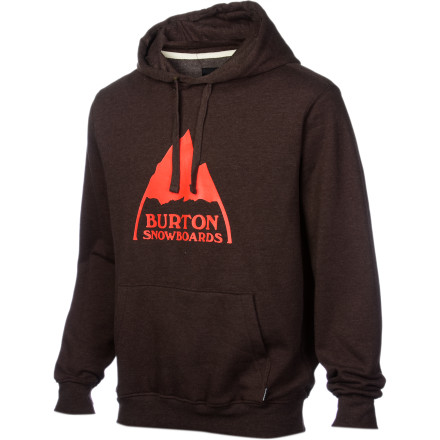Snowboard What is that thing printed on the Burton Mountain Logo Hoody The top of a gnomes head A chocolate-dipped ice-cream cone A llamas hoof - $30.57