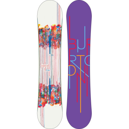 Snowboard One taste of the Burton Feelgood Flying V Snowboard and you'll be hooked. That's because Burton took the Flying V profile and a medium-soft flex,  and added carbon stringers throughout for a responsive, yet forgiving ride that performs anywhere on the mountain. - $317.97
