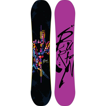 Snowboard Once you take one lap on the Burton Womens Dj Vu Flying V Snowboard, you won't forget its uncanny ability to take an overall forgiving flex and infuse it with carbonized pop while never feeling torque-y or unbalanced. Perhaps this unforgettable freestyle ride is because the Dj Vu takes Burton's game-changing Flying V rocker-meets-camber profile and pairs it twin-like geometry, or maybe it's the women-specific core-profiling or it's because the  wait, what we're we talking about - $251.97
