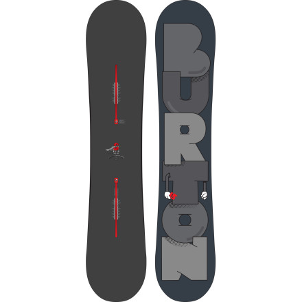 Snowboard Burton Crammed the Super Hero Snowboard full of technology to make you prettier as you hammer the park. The combination of a forgiving flex and a Flat Top profile will give the confidence to tack that one extra 180 onto your favorite booter, and Nag Reduction gives you the same performance in a shorter board for lighter weight and better control. In other words, the Super Hero makes you a better rider and a better person. - $269.97