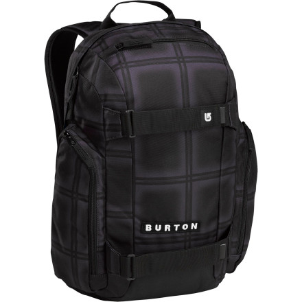 Skateboard Cue the indecipherable vocals and double bass drums. The Burton Metalhead 26L Backpack holds everything you need to get you through work and everything you need to forget about it tooincluding an insulated cooler pocket. - $38.43