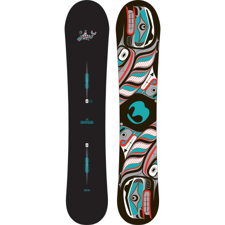 Snowboard If high-speed groomers, chest-deep tree stashes, and steep, technical lines are your addiction of choice, the Burton Barracuda Snowboard's tapered shape, directional S-Rocker profile, and snappy-yet-floaty flex pattern will plaster a poop-eating grin on your face any time you ride it. - $317.97