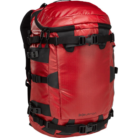 Snowboard Developed with Burton's team of backcountry assailants and professional guides alike, the Burton AK 31L Backpack features a roomy interior, rugged exterior, and BC-specific compartmentalization for all your shred-enhancing tools. - $104.97