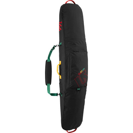 Skateboard The Burton Gig Bag brings fully padded multi-board transportation designed for weekend to week-long trips away from the home hill, along with a little extra room for your tools and 'borrowed' rugs from fast-food joints. Say what - $66.43