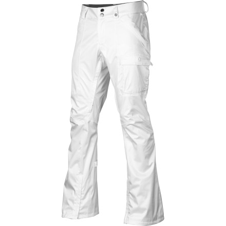 Snowboard You love the way you feel and look in your come-and-get-it jeans, so naturally when you head to the mountain you rock the slim-cut Burton Womens Indulgence Snowboard Pant. Waterproof protection from the DryRide Durashell fabric and fully taped seams ensures you stay dry in these sexy snow-ready pants. - $77.48