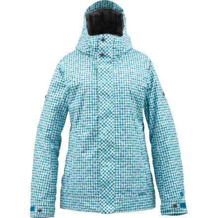 Snowboard The Burton Women's TWC Fulltime Flirt Jacket is a mountain-ready shred jacket that is built for playing hard in the snow, but we won't blame you if its sleek style and makes you think of it more as a hot little outfit that just happens to be insulated and water resistant. Wear this White Collection jacket when you want to stay cozy, but you insist on looking great. - $84.98