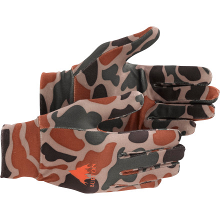 Camp and Hike Whether you're exploring the backcountry or the streets, the Burton Expedition Glove Liner is here to back you up. Thanks to its quick-drying DryRide Ultrawick material, the Expedition works equally well for layering, hiking, or shoveling a lip. - $14.94