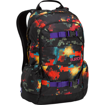 Snowboard The Burton Women's Riders 22L Backpack supports your addiction to face-shots and dropping in on untouched zones without having to forego the gear that keeps you out there all day. - $62.93